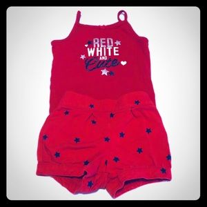 Carter's Girls Outfit Size 12 Months